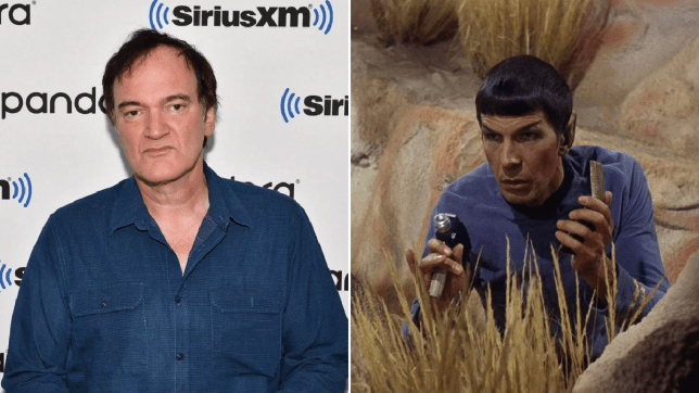 Quentin Tarantino and Spock