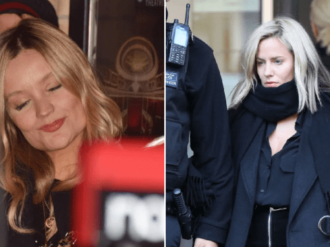 Laura Whitmore enjoys charity busk in Dublin after replacing Caroline Flack on Love Island