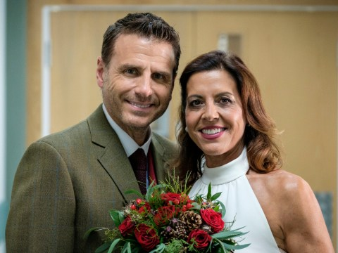 Casualty review with spoilers: A wedding, a birth and precious Christmas memories