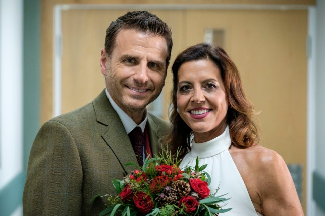David and Rosa in Casualty