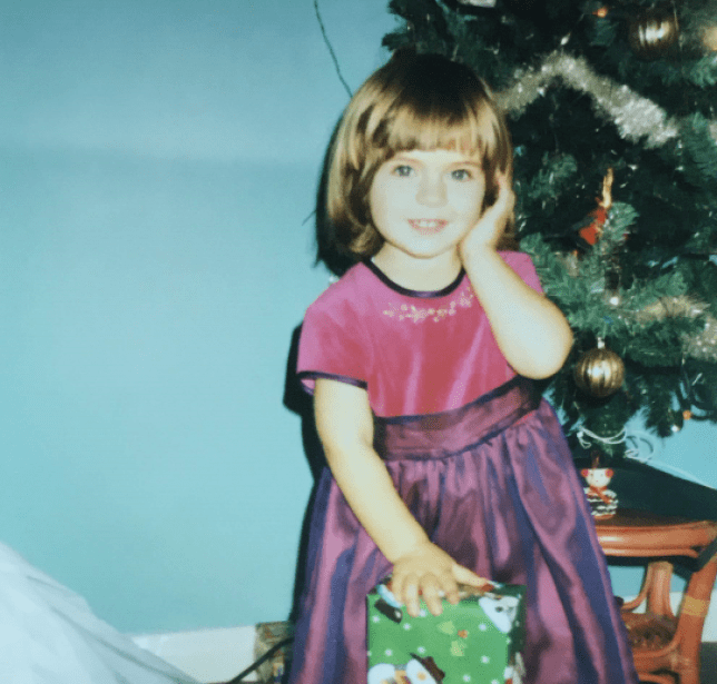 Child of divorce at christmas