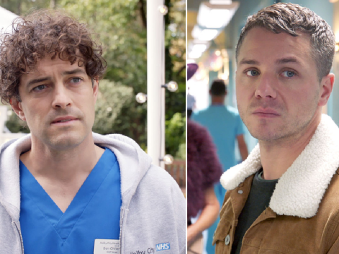 Holby City review with spoilers: A sad end for Lofty and Dominic as Lee Mead exits