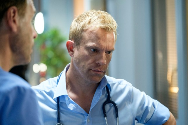 Dylan in Casualty