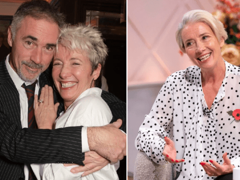 Emma Thompson's husband defends their sustainable Christmas as he confirms they're doing Secret Santa