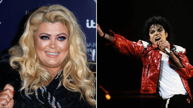 Gemma Collins and Michael Jackson