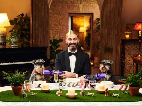 If you have £450 to spare, you can now get your dog a luxury Christmas hamper