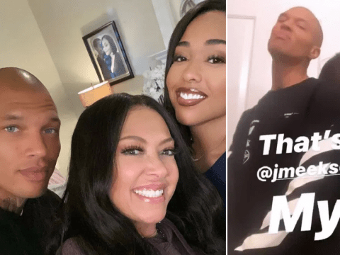 Jordyn Woods wraps up first leading movie role and Jeremy Meeks might be playing her love interest