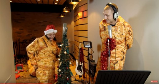 Ladbaby drops innuendo-filled charity single I Love Sausage Rolls for shot at second Christmas number one