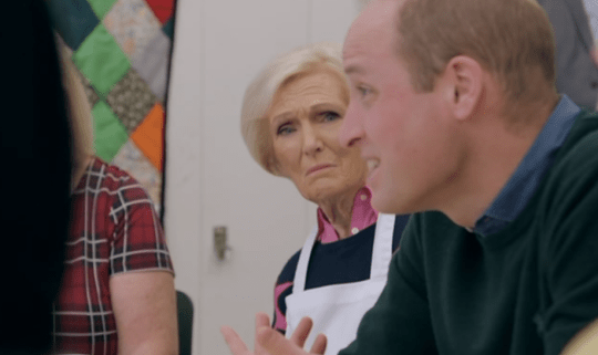 Mary Berry and Prince William
