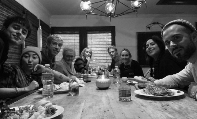 Miley Cyrus and Cody Simpson Thanksgiving