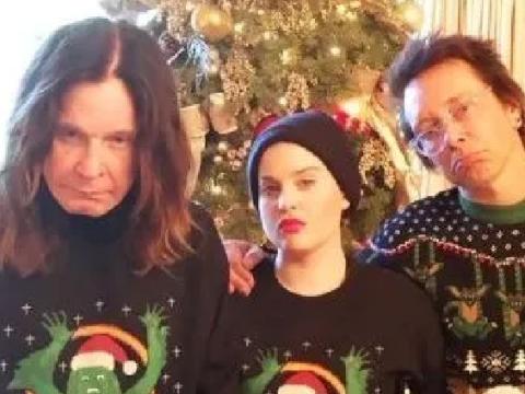 Ozzy Osbourne shares glum festive snap before spending Christmas away from wife Sharon