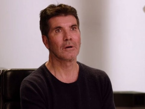 Simon Cowell visibly horrified by self-proclaimed 'rock star' on X Factor: The Band