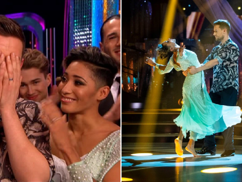 Strictly's Chris Ramsey breaks down in tears after emotional performance with Karen Hauer