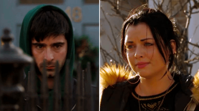 Whitney Dean and Leo King in EastEnders