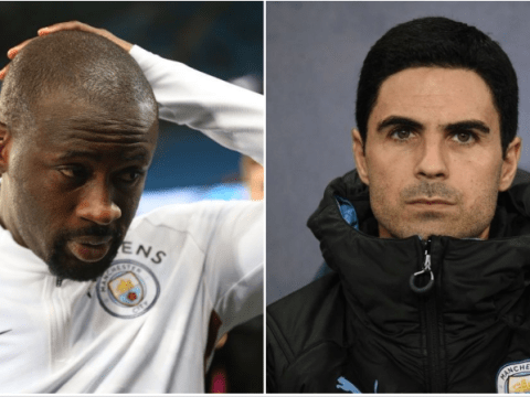 Man City legend Yaya Toure sends warning to Mikel Arteta ahead of Arsenal move