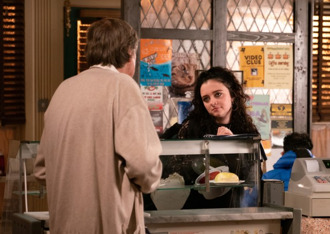 Nina and Roy in Coronation Street