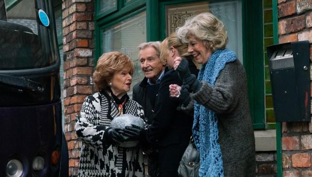 Rita, Ken and Audrey in Coronation Street