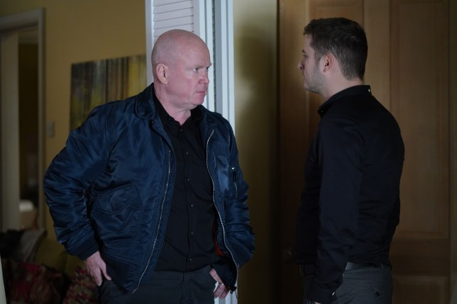 Phil and Ben in EastEnders