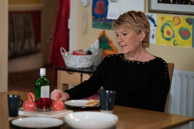 Shirley in EastEnders