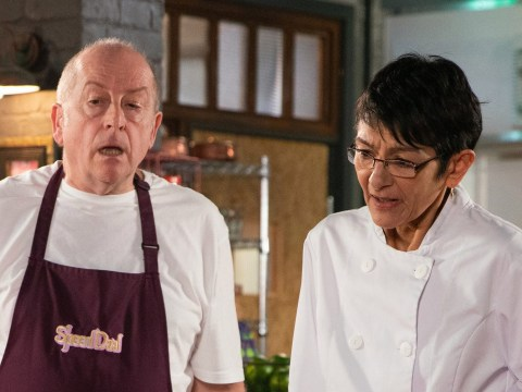 Coronation Street spoilers: Yasmeen Nazir discovers the truth about Geoff Metcalfe as she sneaks a peak at his laptop?