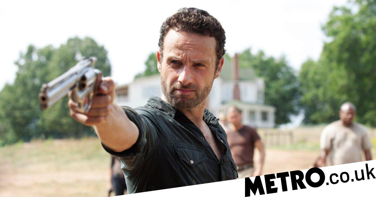 The Walking Dead's Andrew Lincoln fights zombies ahead of Rick Grimes movies