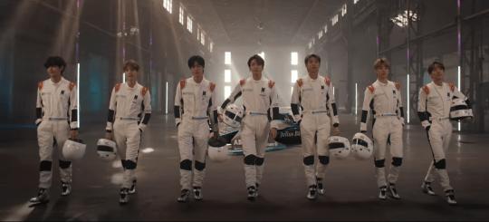 BTS Formula E ad