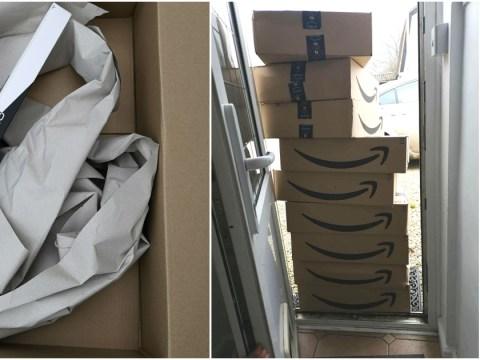 Amazon slammed for sending customer nine items in nine separate boxes