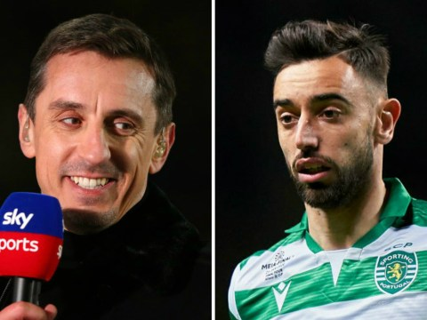 Gary Neville not expecting instant impact from Bruno Fernandes and says Man Utd need one more signing