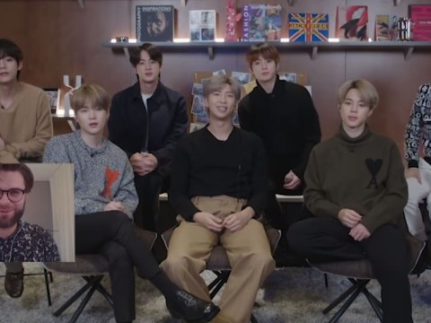 Connect BTS launched in London as BTS join forces with artists from around the world