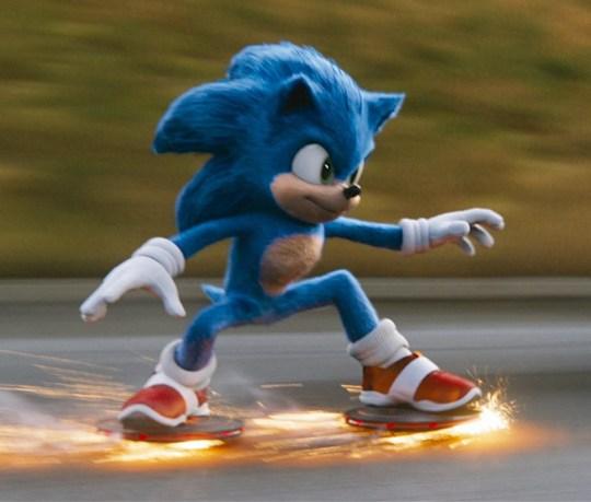 Sega. Photo Credit: Courtesy Paramount Pictures and Sega of America.