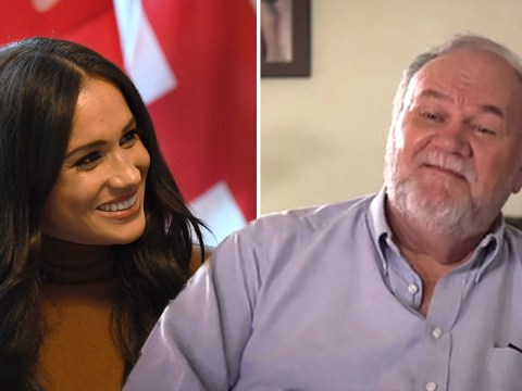 Thomas Markle tells Meghan it's 'time to look after daddy'
