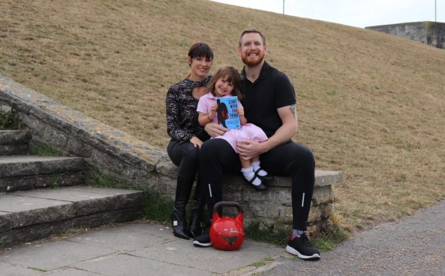 Dan with his family