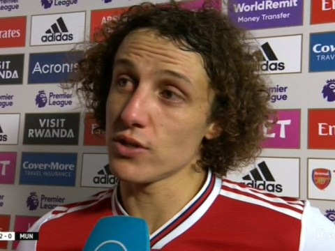David Luiz aims dig at Unai Emery after Arsenal's win against Manchester United