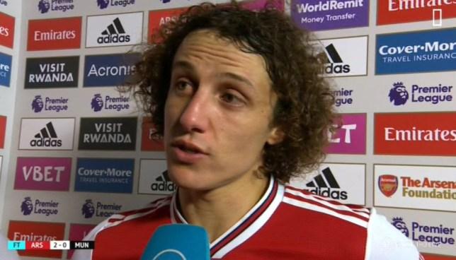 David Luiz says Mikel Arteta has brought happiness back to Arsenal's players