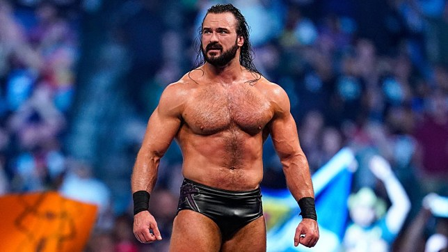WWE wrestler Drew McIntyre wins the Royal Rumble match