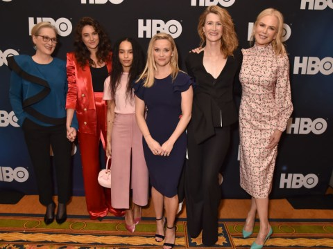 Laura Dern reveals Big Little Lies secret group chat with Meryl Streep and Reese Witherspoon