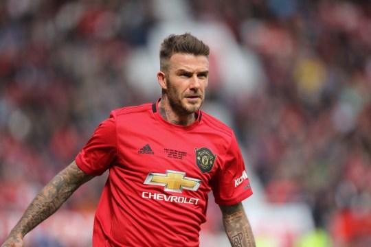Héros de Manchester United et ancienne star de l'Angleterre Beckham