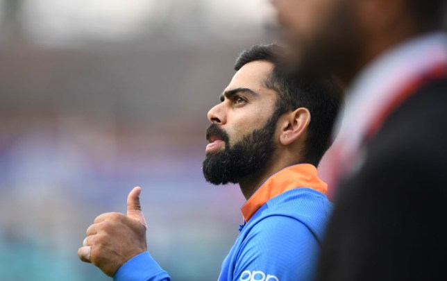 India captain Virat Kohli won the ICC Spirit of Cricket Award