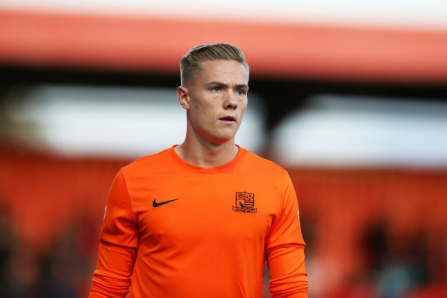 Nathan Bishop is on the verge of joining Manchester United