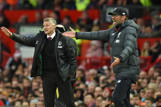 Ole Gunnar Solskjaer and Jurgen Klopp convey messages to their Manchester United and Liverpool players