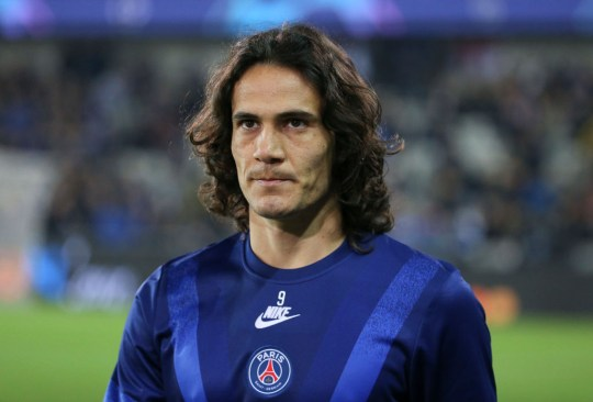 Uruguay international Cavani looks set to leave PSG