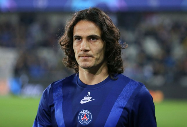 Edinson Cavani is set to leave Paris Saint-Germain at the end of the season
