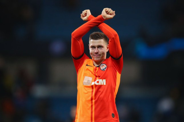 Arsenal are said to be in talks to sign Mykola Matviyenko from Shakhtar Donetsk