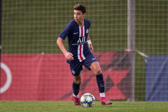 PSG's 17-year-old midfielder Kays Ruiz-Atil is on Chelsea's radar