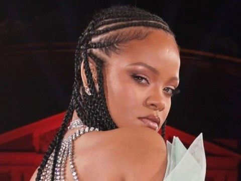 Rihanna is ready to dominate the mascara game and we're here for it