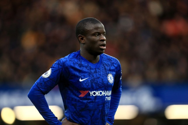 N'Golo Kante is out of Chelsea's clash with Burnley