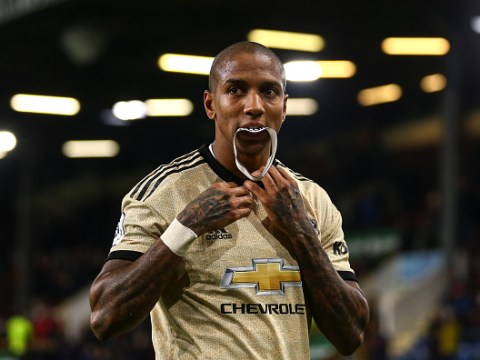 Ashley Young stormed out of Manchester United training to force through Inter Milan move