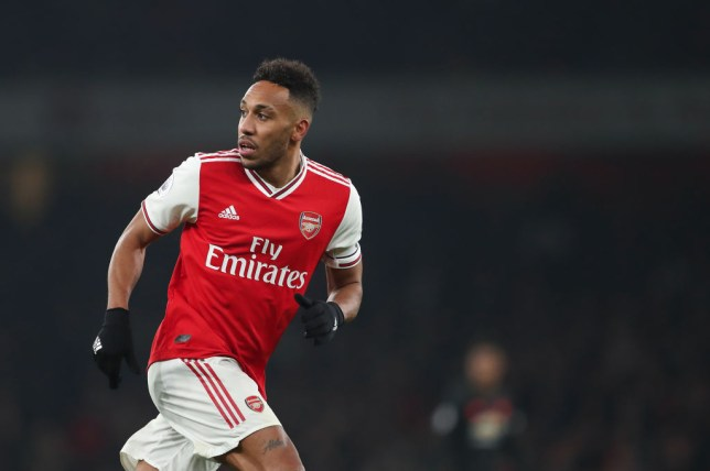 Pierre-Emerick Aubameyang has been linked with a transfer away from Arsenal