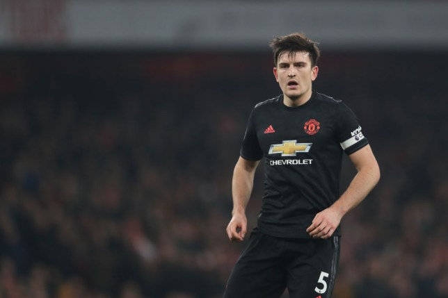 Harry Maguire says Manchester United must react better to conceding first. (Picture: Getty)