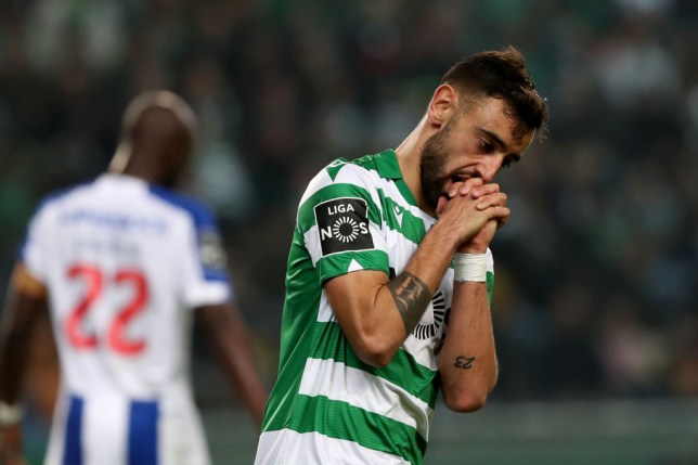 Bruno Fernandes is on the verge of joining Manchester United